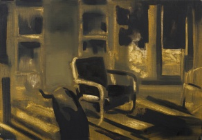 Kate Gottgens; Interior with Chairs