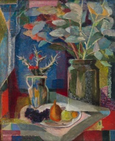 Maud Sumner; Still Life with Flowers and Fruit