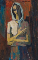 Maurice van Essche; Woman with Arms Folded
