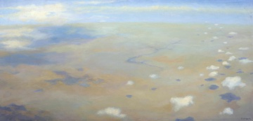 Maud Sumner; Aerial View of Clouds