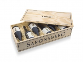 Saronsberg; A case of limited edition Saronsberg wines from the Liberi range, with beautiful individual labels designed by artist Claudette Schreuders; 2021; 1 (1 x 6)