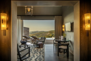 Experience a one-night stay in a Superior Lodge for two people at Delaire Graff Lodge and Spa
