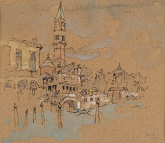 Gregoire Boonzaier; Near St Marks Square